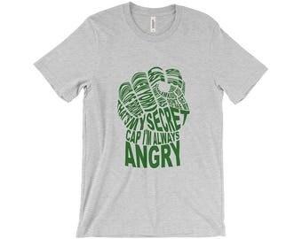 Avengers Typography Shirt - Hulk's Fist