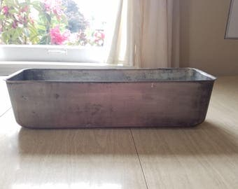 Vintage Aluminum Loaf Pan from NSF Testing Laboratory in Ann Arbor, MI