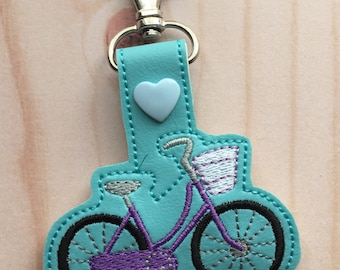 Bicycle Key Chain/Clip