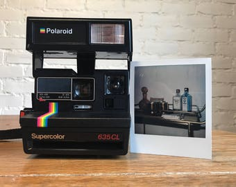 Film Tested Polaroid Supercolor 635CL