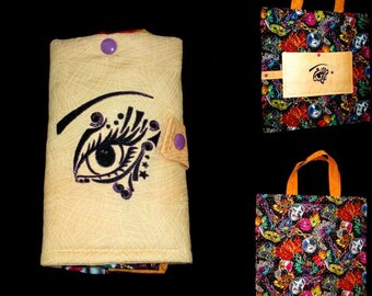 foldable Tote embroidered (customizable to order)