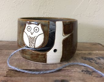 Owl Yarn Bowl