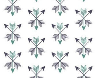 Organic and non organic Crib sheets and Mini crib sheets including 4Moms Arms Reach, Bloom baby etc deer arrows blue navy white hunting