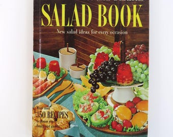 Vintage 60s Salads cookbook Better Homes & Gardens publication - a retro classic!