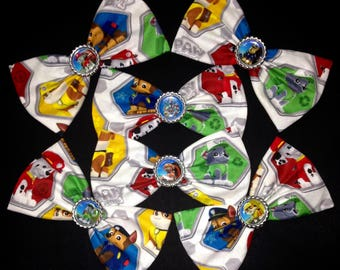 "6"" Paw Patrol Fabric Character Bow"
