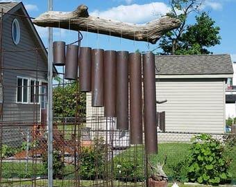 Windchimes from copper piped by Ewekneek Enterprises