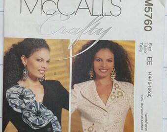 McCall's Craft Pattern Size 14-20