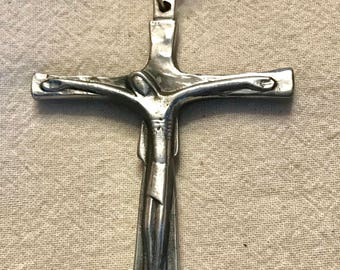 Jesus and Mary Double Sided Crucifix