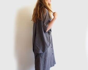 vintage Popi bat wing dress