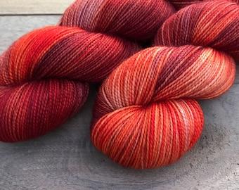 Is it fall yet? - Pax Sock, 2 ply, 80/20 Merino/Nylon