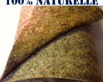 Wool batting. 100% natural thermal and sound insulation