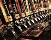 Beer Tap Handle, Chalkboard Beer Tap Handle, Laser Engraved Tap Handle, Custom Beer Pull, Personalized Tap Handle
