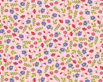 Meadow Sweets Pink Floral from Riley Blake Designs