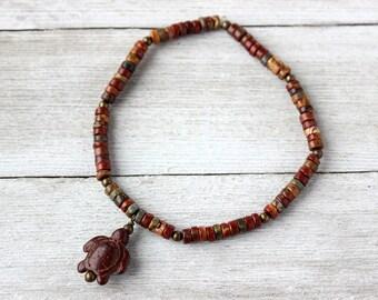 Turtle Men's Stack Bracelet, Christmas Gift for Him, Boyfriend Gift, Husband Gift
