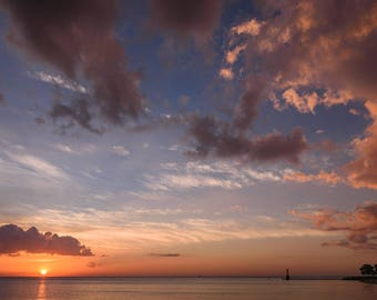 Foster Beach Sunrise