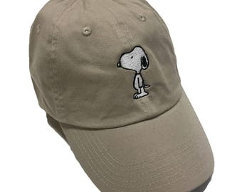 Snoopy Peanuts Dad Hat