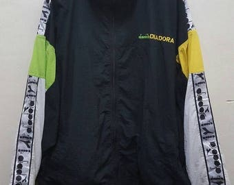 MEGA SALE 25% Vintage  diadora winbraker jacket