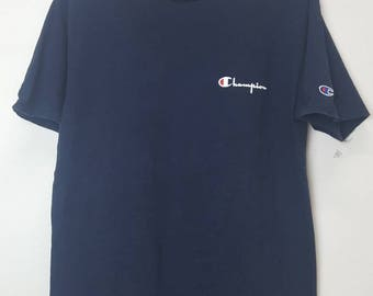 Vintage Champion product spellout shirt