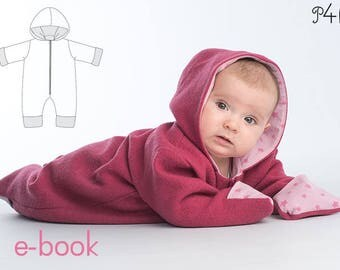 Jumpsuit pattern for Baby 1M to 18M