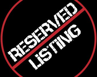 RESERVED LISTING for PAPATOCS Children Decal