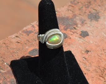 Size 6 wire wrap ring