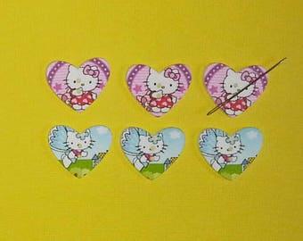 Hello Kitty Heart Needle Minder