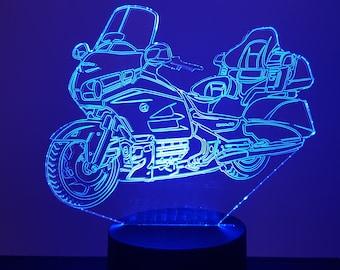 Lampe 3D motif: Honda Goldwing