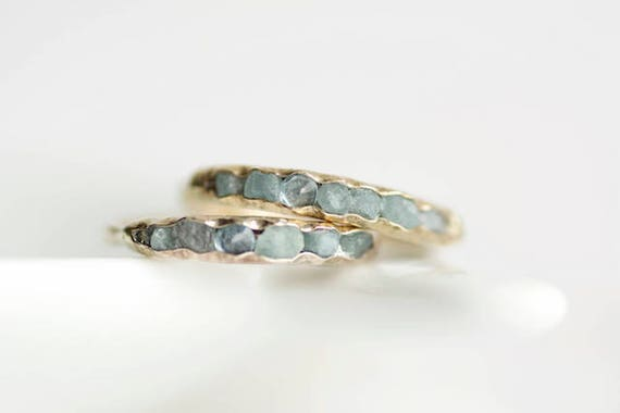 like this item - Aquamarine Wedding Ring