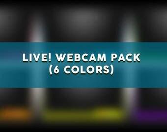 LIVE! Webcam Overlay Pack