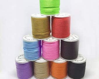10 m nylon cord, 1 mm, 1 roll