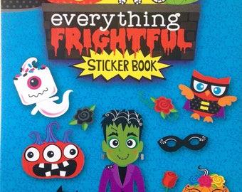 Creatology Sticker Book- Everything Frightful