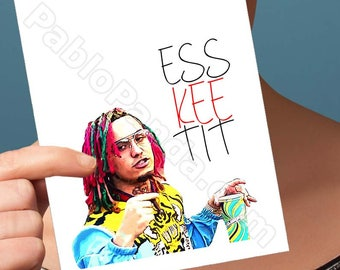 Funny Birthday Cards | Lil Pump | Husband Gift Boyfriend Gift Moving Cards Romantic Birthday Card For Girlfriend Esskeetit Birthday Gift Him