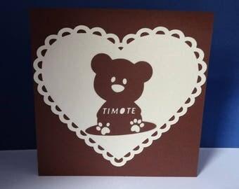Share bear sitting
