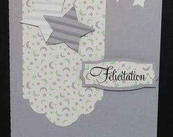 Congratulation tag card