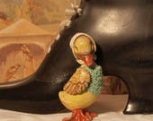 Miniature model of a dressed duck