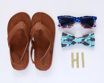 Shark Bow Tie // Ocean Bow Ties // Newborn Bow Ties // Boys Accessories // Photography Props // SummerFun Bow Tie