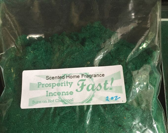 Prosperity Incense, Money Drawing Incense, Lottery Incense, Lucky Incense, Essential Oil Incense, Scented Home Fragrance, Hand Made