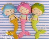 Little  Mermaid- PDF pattern