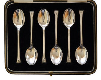 Silver Horse Shoe Coffee Spoons
