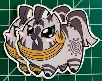 Pony Chubs! Zecora Sticker