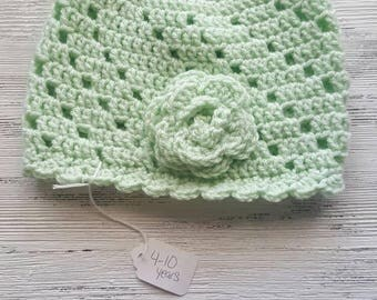 Girls hat ,ready to ship , Sale