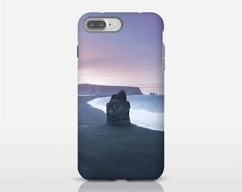 Google pixel 2 case, Iceland coastal art phone case, iPhone X cases, iPhone 8 Plus, iPhone SE, Samsung S9, Phone art, Mobile phone. SV042