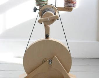 SpinOlution Spinning Wheel - Pollywog - Travel Wheel - Beginner Wheel - Spinning Wheel - Spinning - Children's Wheel - Lazy Kate -
