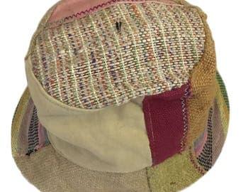Eco Friendly Bohemain THC Free Hemp  Sun Hat