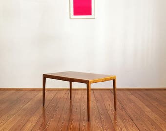 Mid century cherry sofa table by Hartmut Lohmeyer