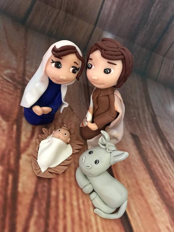 Nativity christmas keepsake decoration