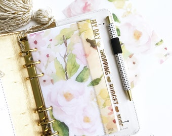 Vellum Dashboards / Ring Planners / Planner Dashboards : Sweet Bloom