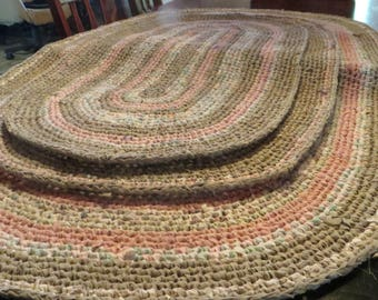 Recycled cotton rugs