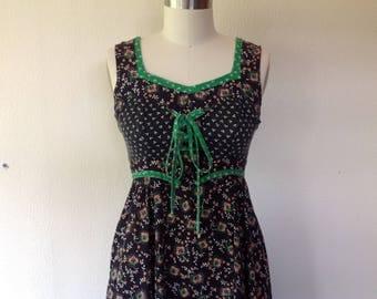 1970s Gunne Sax prairie dress