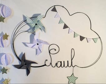 Name of wire pinwheels, flags, stars